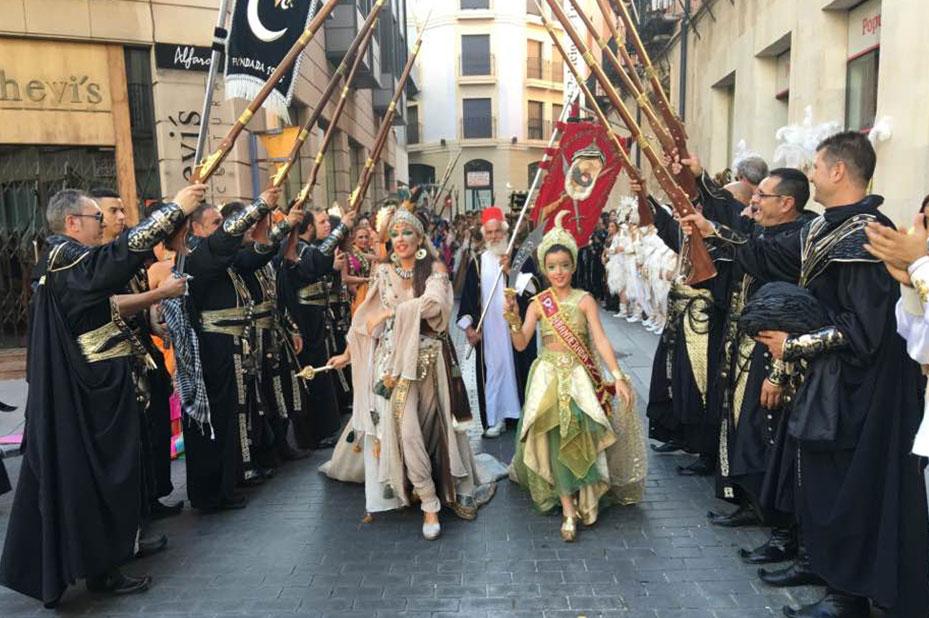 Recogida-desfile